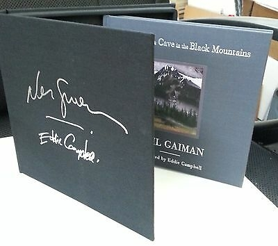 The Truth Is a Cave in the Black Mountains (Limited Edition) by Neil Gaiman , Illustrated by Eddie Campbell