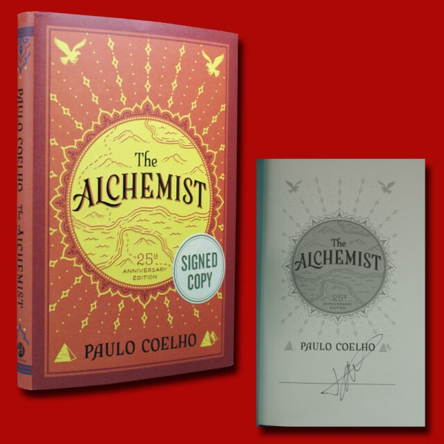 Paulo Coelho The Alchemist 25th Anniversary (Signed Edition) Hardcover