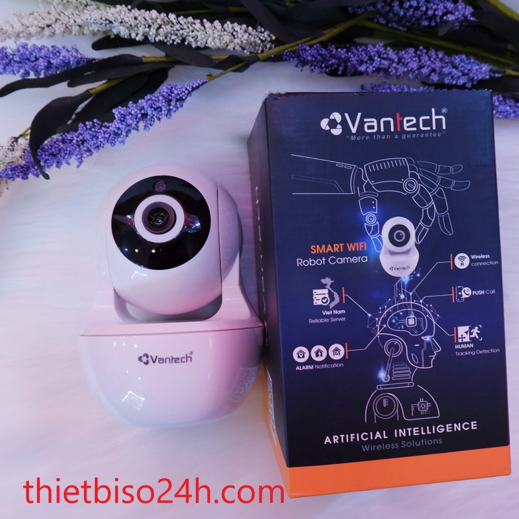 CAMERA AI WIFI 2MP VANTECH AI-V2020
