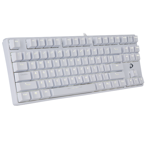Bàn phím cơ DARE-U DK87 White Red switch