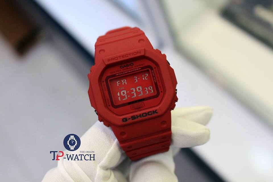 G-SHOCK DW-5635C-4 RED-OUT LIMITED EDITION