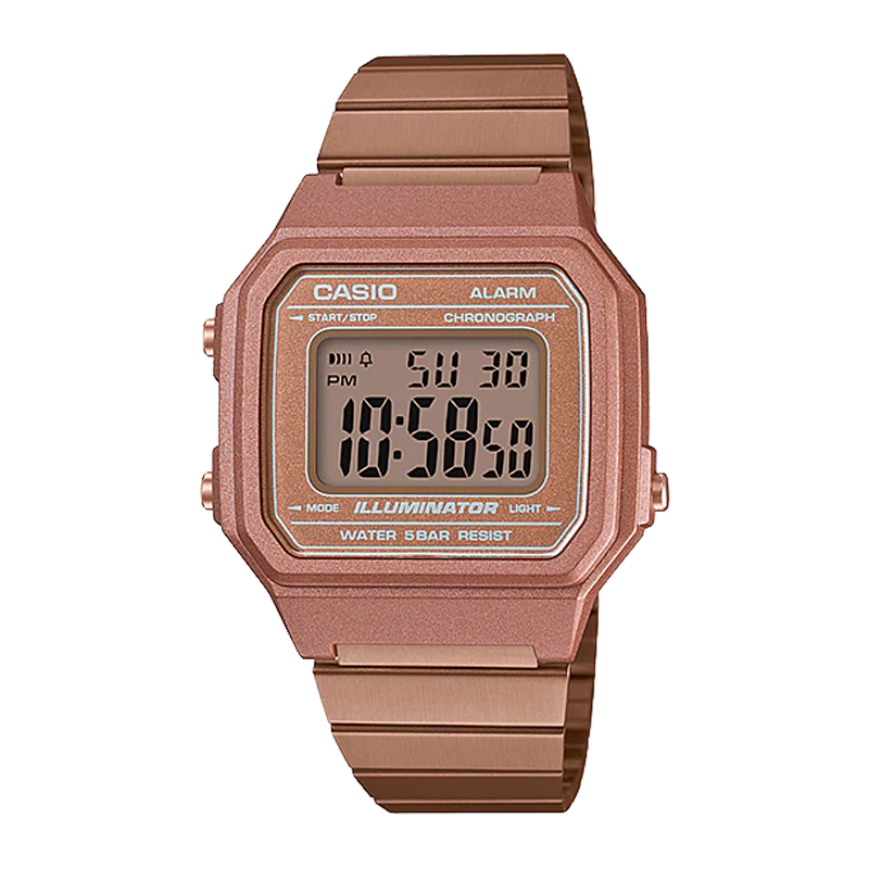 CASIO CLASSIC B650WC-5A ROSE GOLD