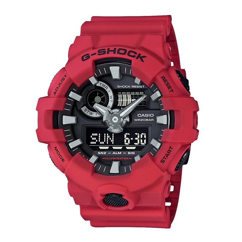 G-SHOCK GA-700-4A RED RESCUE