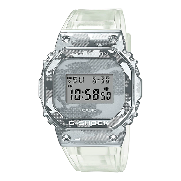 G-SHOCK GM-5600SCM-1 SKELETON CAMOUFLAGE | LIMITED EDITION | GM-5600SCM-1DR