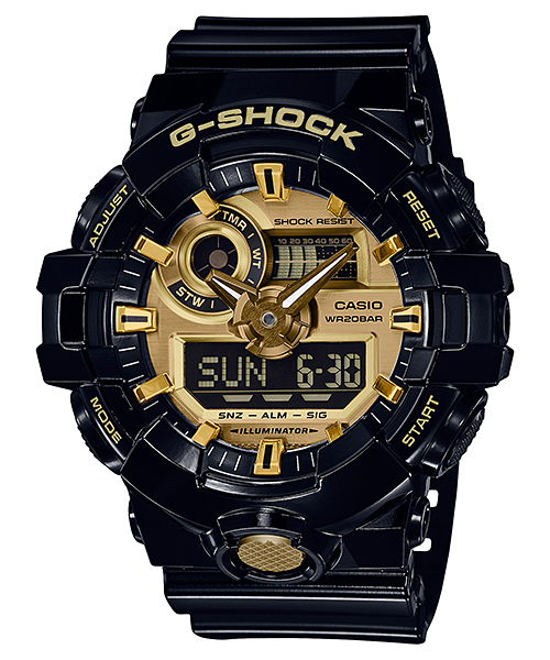 G-SHOCK GA-710GB-1A Black Gold
