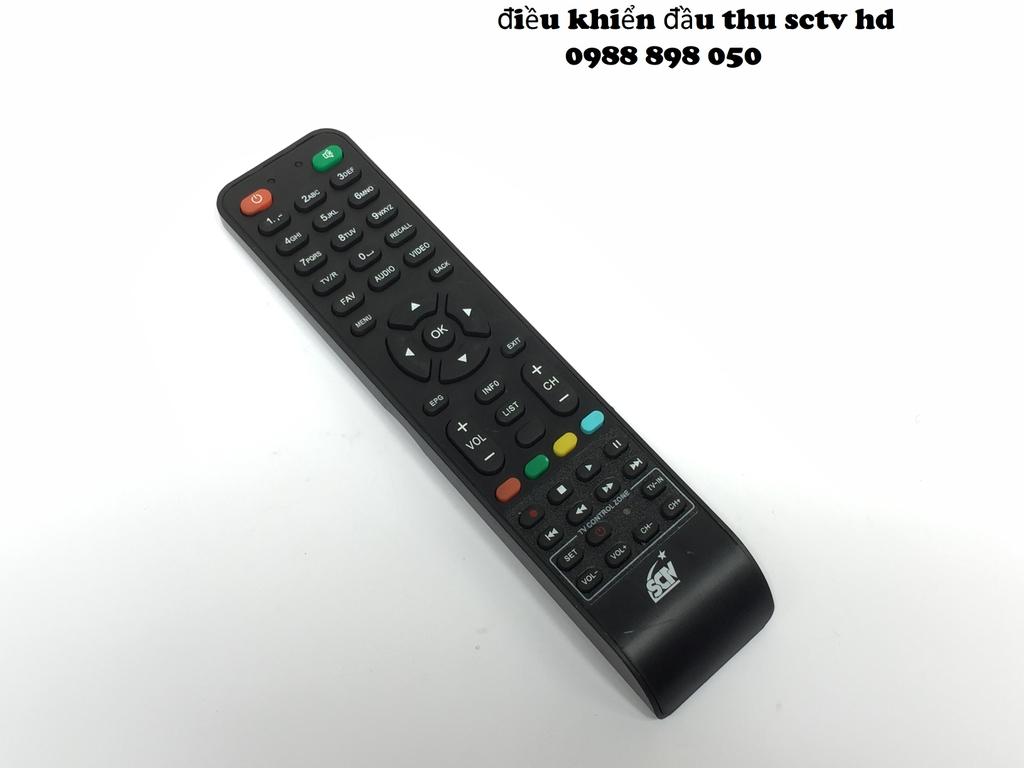 Điều khiển đầu thu truyền hình cáp sctv hd (remote sctv) - Đại lý phụ kiện  24h