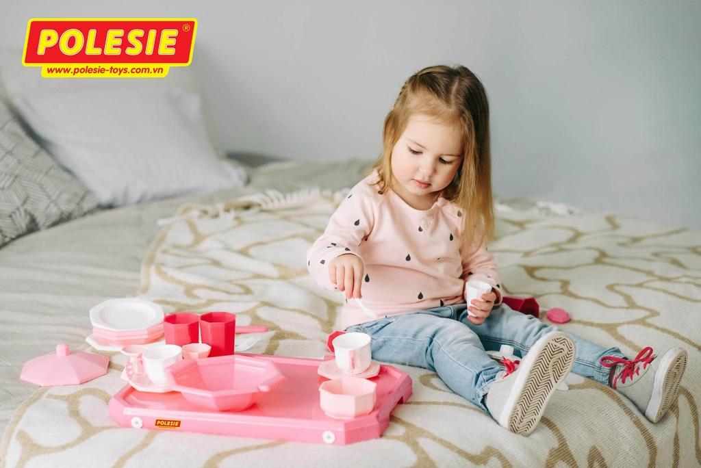 đồ chơi trẻ em nhà bếp Retro 29 chi tiết Polesie