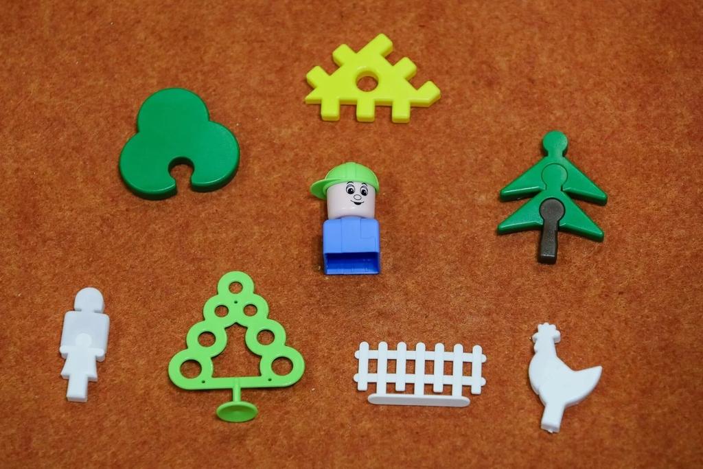 các chi tiết mẫu của bộ đồ chơi lắp ráp, lắp ghép polesie
