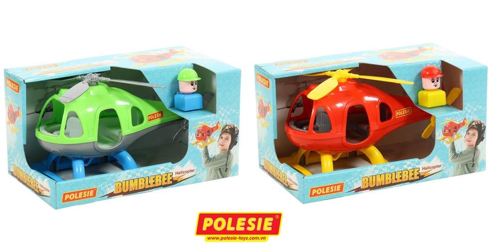 quy cách hộp Máy bay trực thăng Bumblebee đồ chơi Polesie 67654