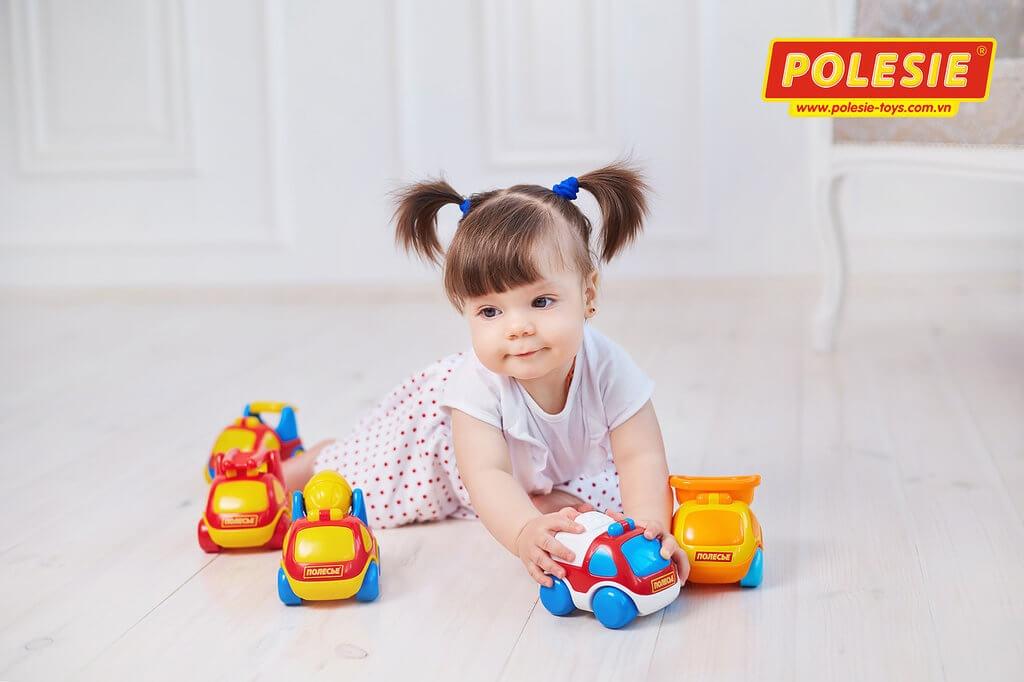 Full bộ đồ chơi trẻ em xe Carat Polesie Việt Nam