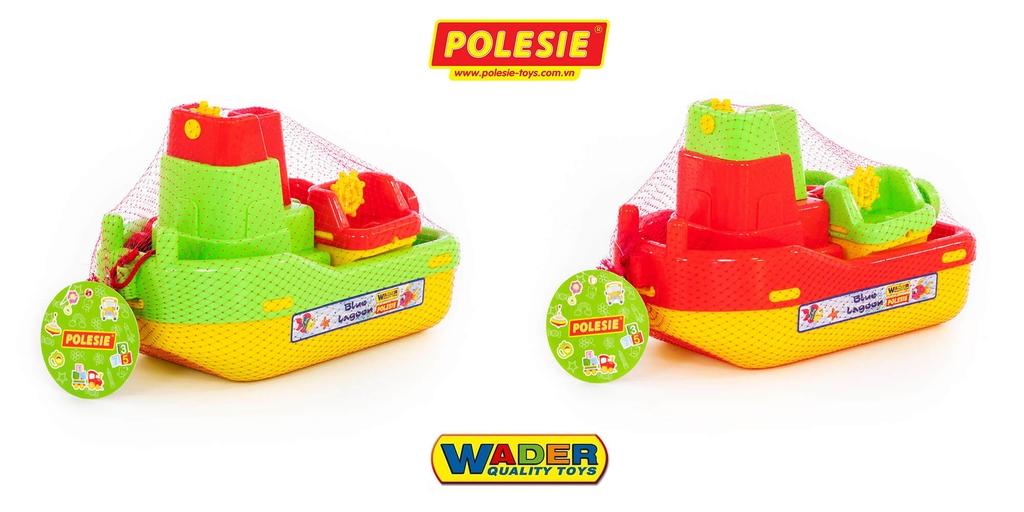đóng gói túi lưới bộ đồ chơi mô hình tàu kéo Số 402 41227 Polesie