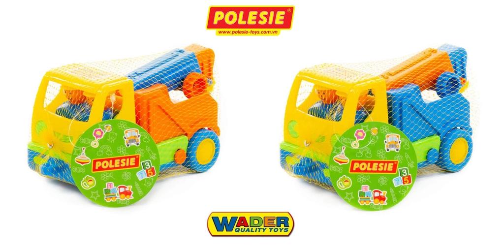 quy cách đóng gói túi lười xe cẩu HaLi 5458 đồ chơi Wader Polesie