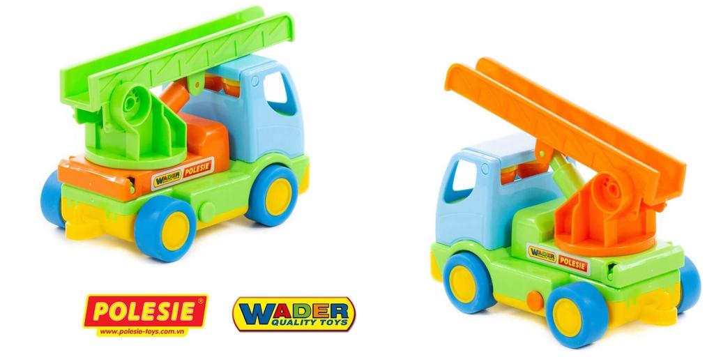 xe mô hình đồ chơi cứu hỏa HaLi Polesie Wader Toys