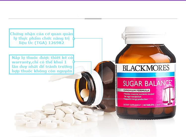 Viên uống cân bằng đường huyết Blackmores Sugar Balance 90 viên ...