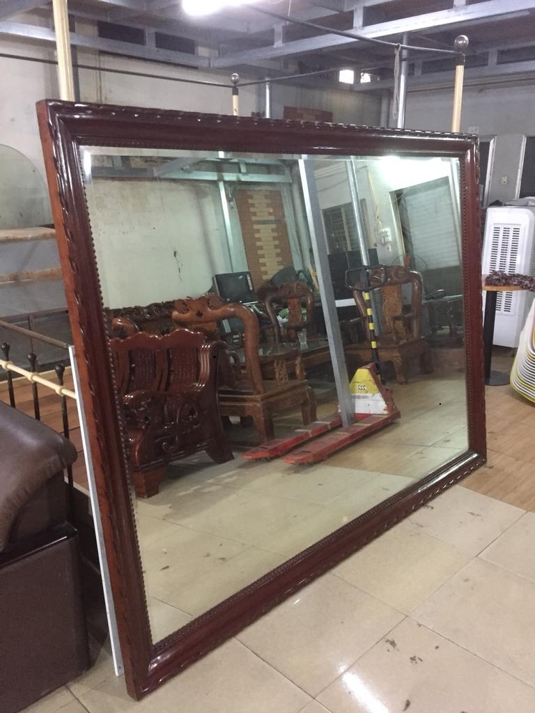 Gương treo tường Gỗ hương đỏ | Đồ cũ Hải phòng, Chợ đồ cũ hải phòng | docuhp.com