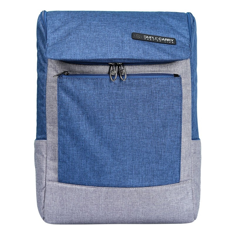 Ba lô laptop SimpleCarry K1 Navy+Grey