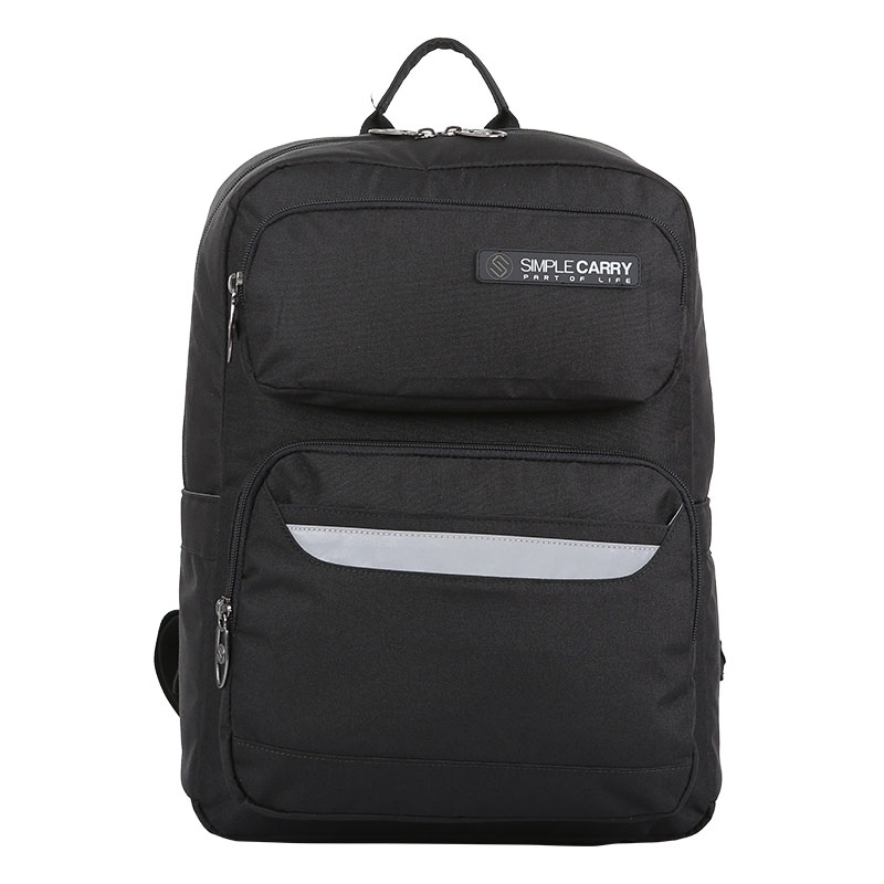 Balo laptop SimpleCarry Issac1 Safety Black