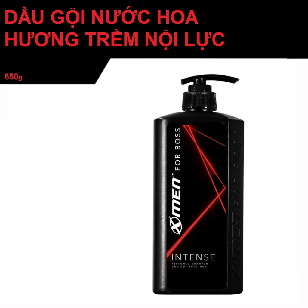 Dầu gội Xmen For Boss INTENSE 650g