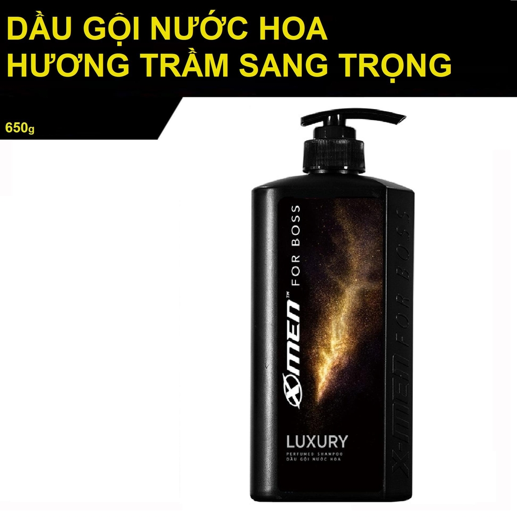 Dầu gội XMen for Boss Luxury 650g