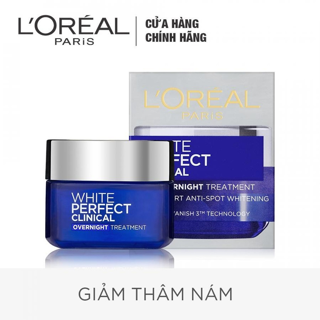 Kem Loreal White perfect clinical trị thâm nám đêm 50ml