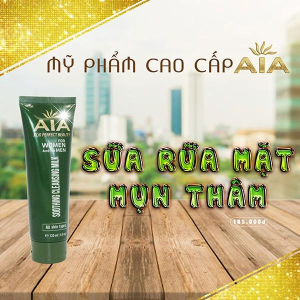 Sữa rửa mặt Soothing Cleansing Milk AIA