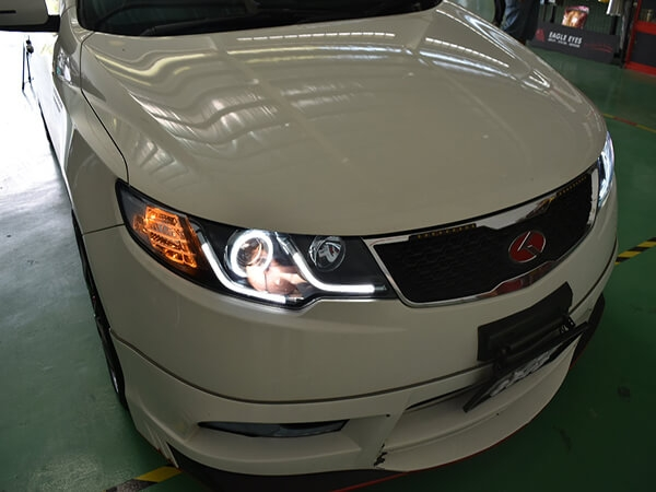 Angel Eyes for Kia Forte