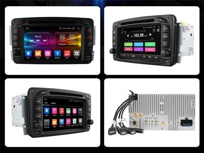 DVD Android Ownice C500+ Mercedes Benz C-Class W203