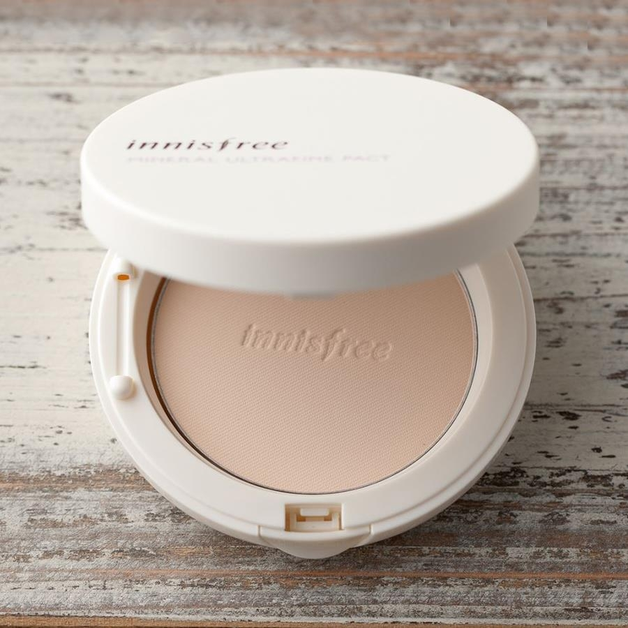Phấn phủ Innisfree mineral ultrafine pact SPF25 PA++