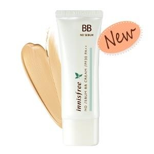 Kem BB Innisfree No Sebum SPF 30 PA++