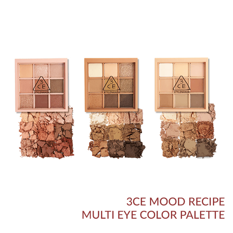 Bảng Phấn Mắt 9 Ô 3CE Mood Recipe Multi Eye Color Palette