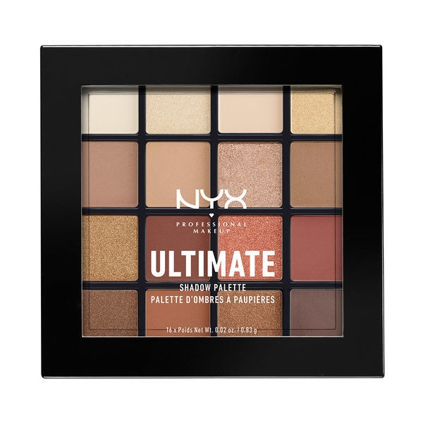 Bảng Phấn Mắt NYX Warm Neutrals Ultimate Shadow Palette (0.83g x 16)