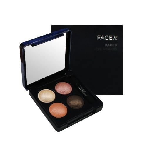 Phấn mắt 4 mầu The Face Shop Face it Baked Eyeshadow