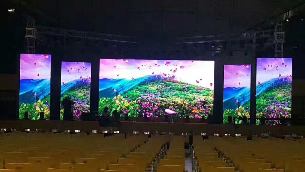 Thi công màn hình led P3.91 full color indoor giá tốt nhất Công ty ...