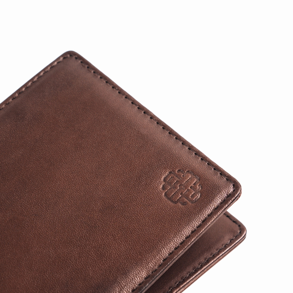THE GENTS BIFOLD WALLET - BROWN - VN01
