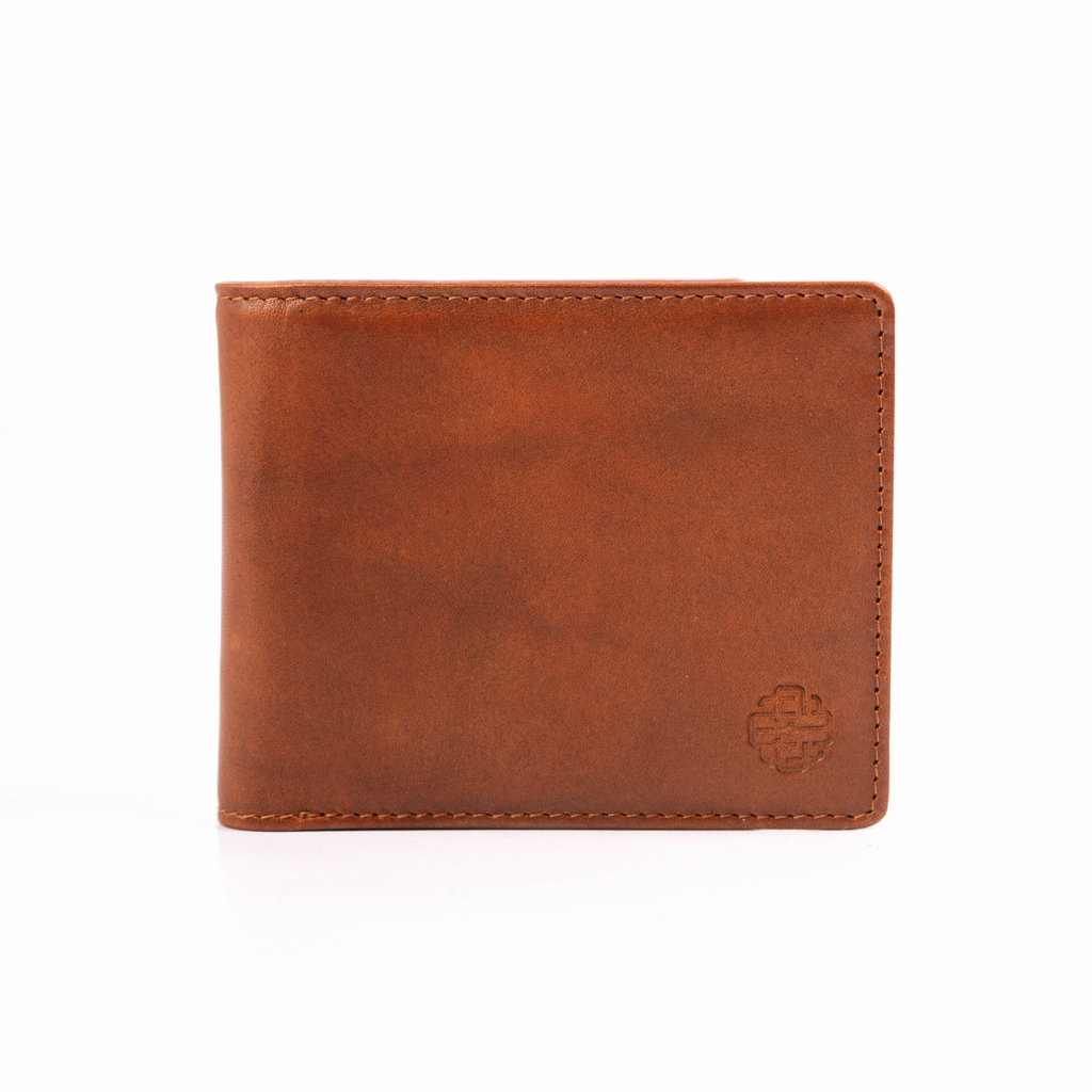 THE GENTS BIFOLD WALLET - LIGHT BROWN - VN01