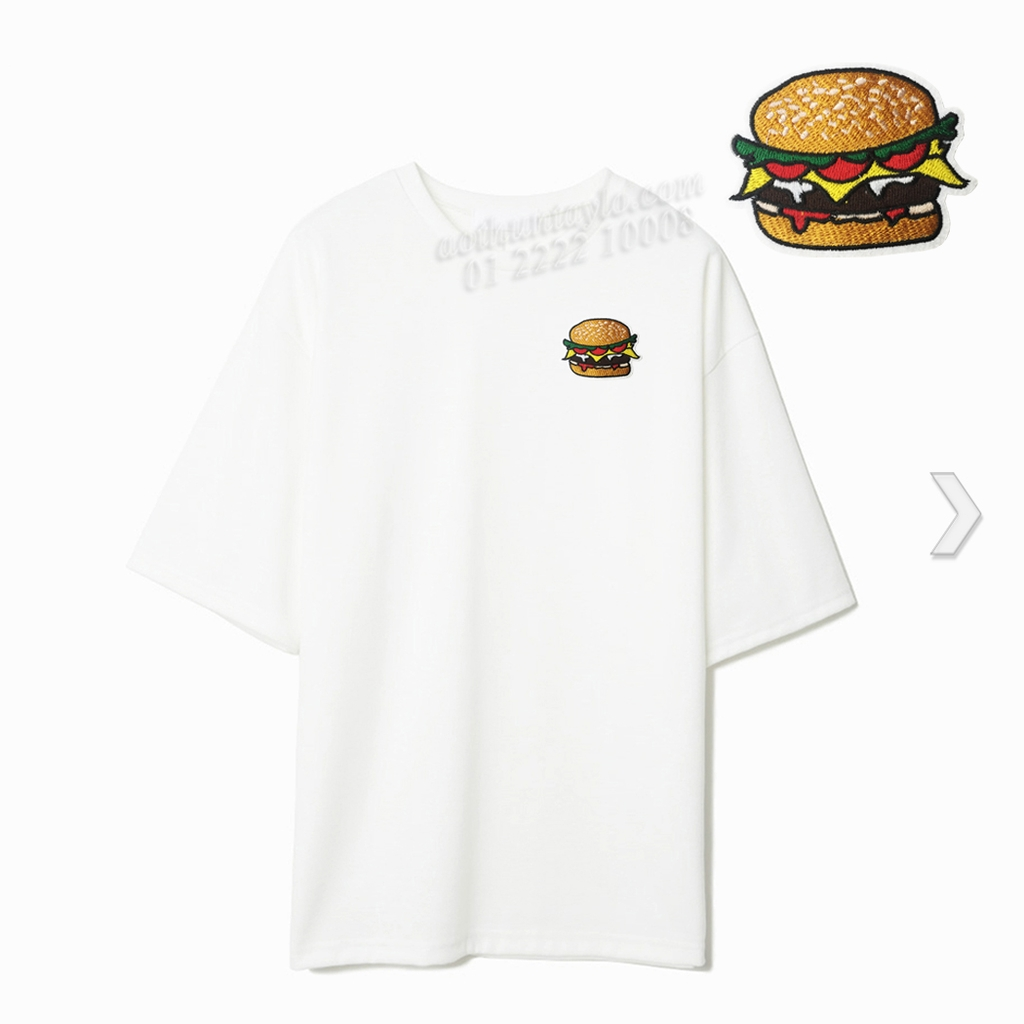 HAMBURGER STICKER 13 - A6 (10cm)