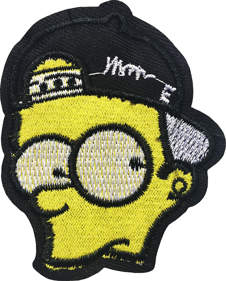 BART SIMSON HEAD STICKER 41A7 A7