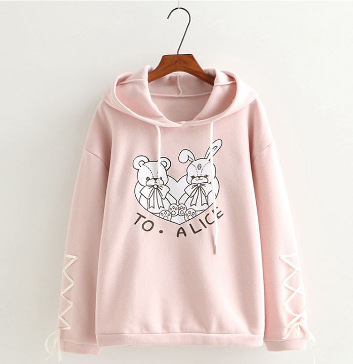 Hoodie To Alice