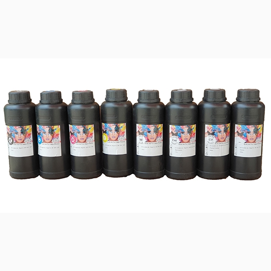 Mực UV  curable ink  500ml (Yellow)