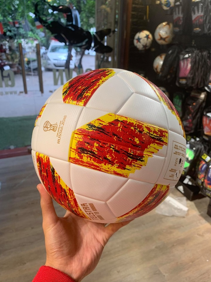 Bóng Telstar 18 Red/Orange - FiFa World Cup Russia 2018