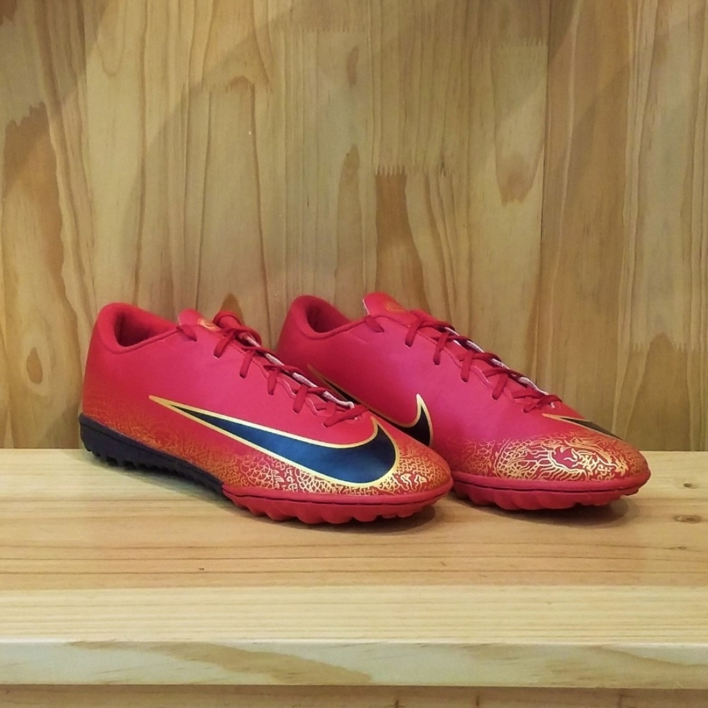 Giầy TF Nike Mercurial CR7 RED