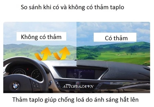 Thảm taplo xe Camry cao cấp