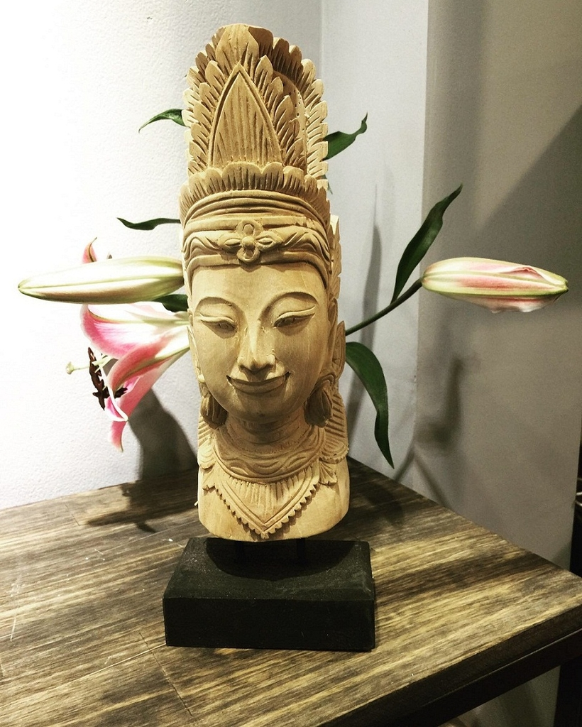 Wooden Budda Decoration