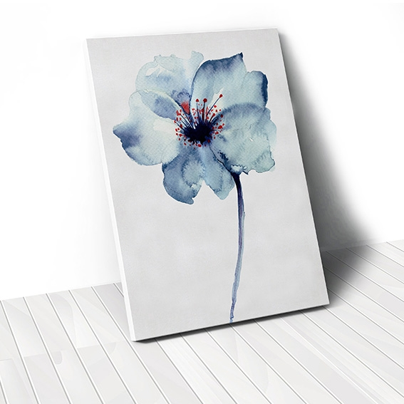 Tranh canvas Watercolor Flower