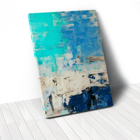 Tranh canvas Abstract Blue