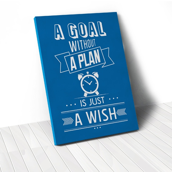Tranh A goal without a plan