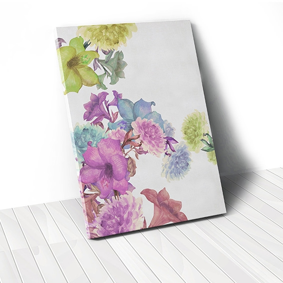 Tranh canvas Flower colorful