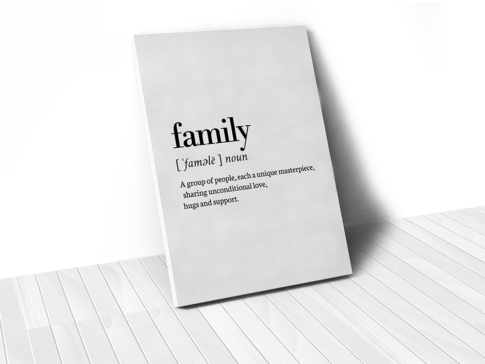 Tranh Family, dictionary