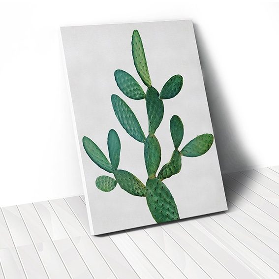Tranh canvas Cactus, Green