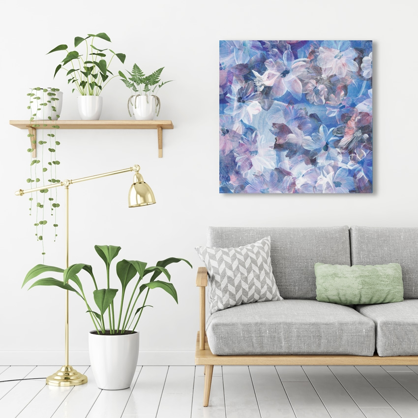 Tranh Flower abstract painting